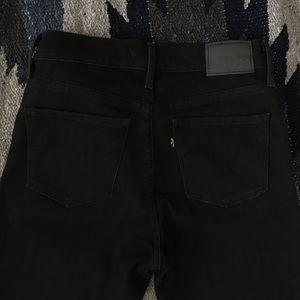 Black Levi's 311 Shaping skinny jean size 27